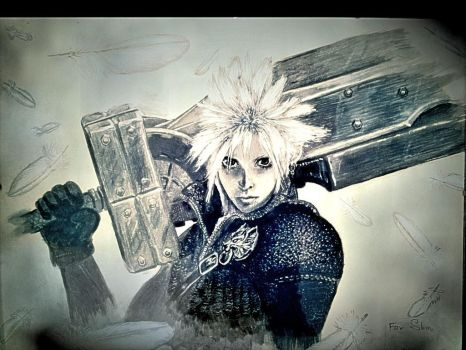 Cloud Strife by Alienixung
