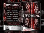 RPW Uprising 2016 official DVD artwork by THE-MFSTER-DESIGNS