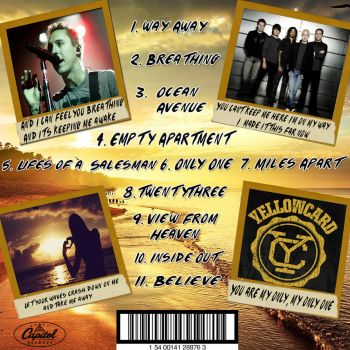 YellowCard Ocean Avenue Album Back Cover by harryandhermionefan