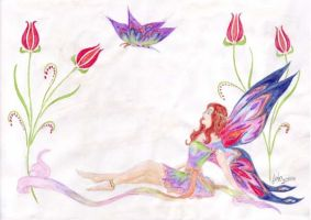 Faerie of Ottoman Tulips by MagicalShine