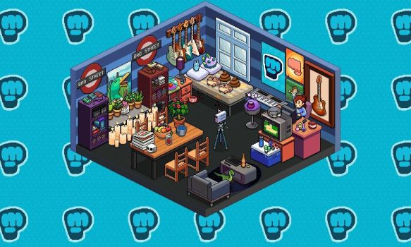 My room Pewdie by irenethecatkiss