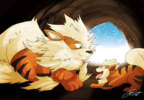 Father and Son by super-tuler