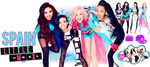 Spain Little Mix by Sevein18
