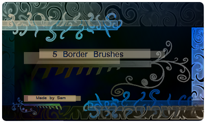 Border Brushes by ICouldntThinkOfAName