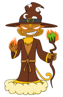The Monkey Wizard Lord by LEMMYFANGIRL
