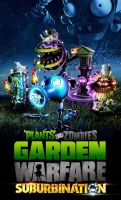 Plants vs Zombies Suburbination by PlantsvsZombies-GW