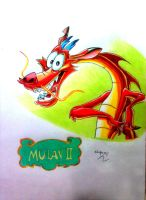 MUSHU DO FILME MULAN by powre