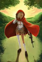 red riding hood by Frescholy