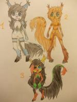 More Adoptables by TheViciousViper