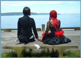 Enjoying the view... together by Saya1984