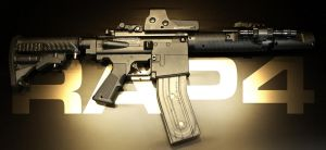 RAP4 M4 Paintball Marker by RealActionPaintball