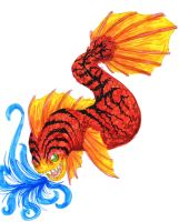 Fire fish by gugi40