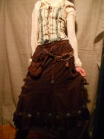 A steampunk skirt by ChanceZero