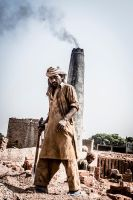 Brick Kiln - I by InayatShah