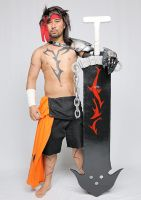 Jecht Final Fantasy X Cosplay: Gonna Cry now? by ManticoreEX