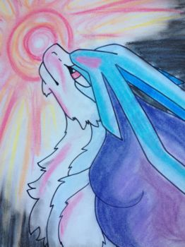 Suicune by yourlittleskyheart