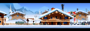 Harold Arctic village dev BG 02 by cyrilcorallo
