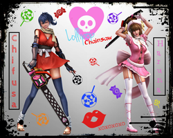 Lollipop Chainsaw Candy Sweet Wallpaper by KiriLockheart
