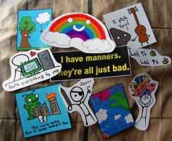 Stickers For Sale by shandab3ar