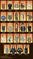 The Cast of Skulduggery Pleasant Part Two by Expression