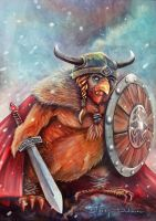 Viking Chicken by blazi76