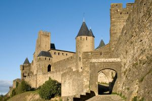 La Cite de Carcassonne - 1751 by Jaded-Paladin