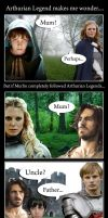 Arthurian Familial Relations by TokiKitsune