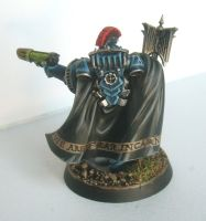 30K Night Lords Chaplain rear by Shuggnuggath