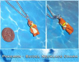 Pokemon - Buizel Charm by YellerCrakka