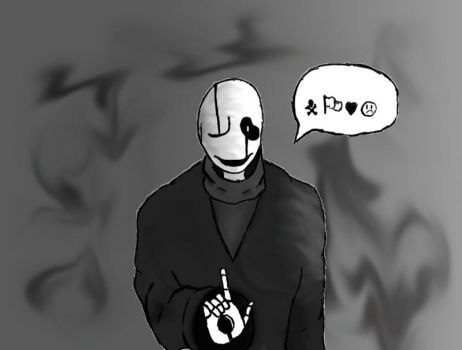 Gaster [UNDERTALE] by ThisIsNiko