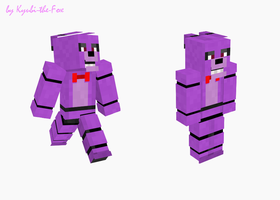 Bonnie Minecraft skin by Kyubi-the-Fox
