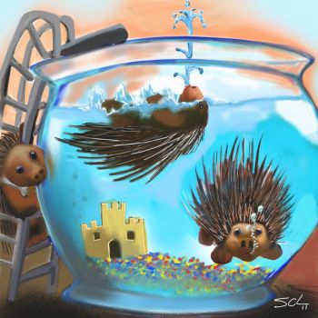 Porcupine by SCLeccentric
