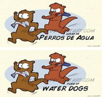 Tittle of Water Dogs by Almiux19
