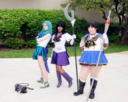 Outer sailor senshi by sailorstar1717