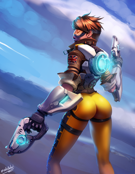 Tracer / Lena Oxton by Evulart