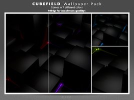 Cubefield Wallpaper Pack by Zedj