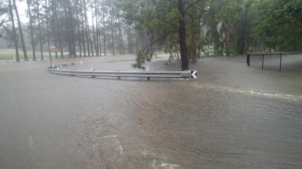 Cyclone Marcia Flooding by Goremise