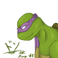 The Second Oldest - Donatello by Lem0nGin