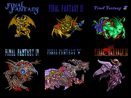 Final Fantasy Wallpaper by WickedAwesomeMario81