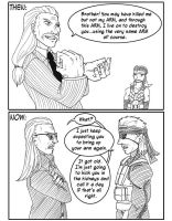 All in the wrist - MGS by Sharky-chan