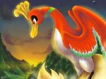 Ho-Oh: Heart of Gold by Lance-of-the-Dragons