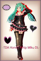 [600 Watchers Gift].:TDA Honey Whip Miku DL:. by Sushi-Kittie