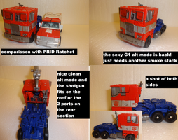 Evaision Mode Optimus Vehicle mode by lovefistfury