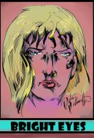 Bright Eyes color promo by PeterPalmiotti