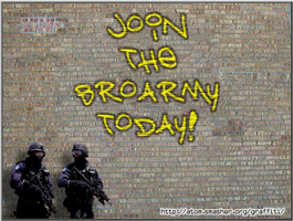 Join the BroArmy! by OrangeRamen75