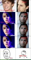 Jared WAY better that JB by fungirly16
