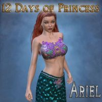 12 Days of Princess - Ariel Mermaid by mylochka