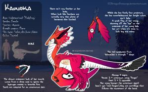 Karioka Ref by DragonFiresongs