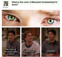 Benedict's eyes by Atsyrc