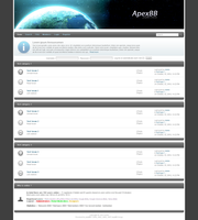 ApexBB phpBB3 theme by quantified